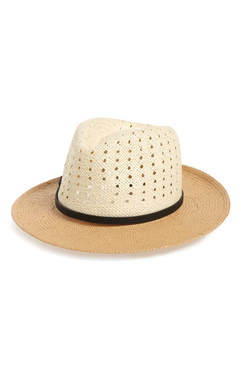 Halogen® Woven Panama Hat | Nordstrom