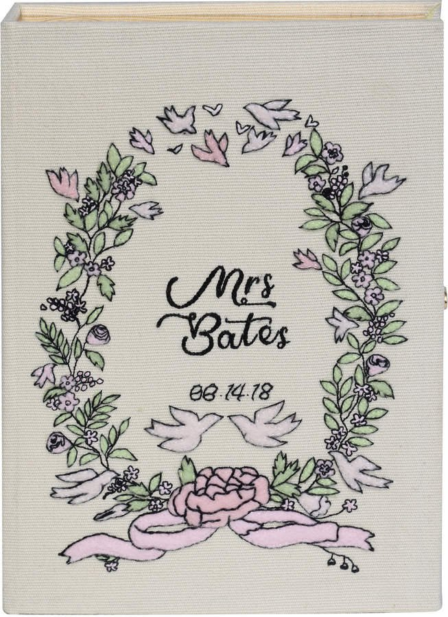 Olympia Le-Tan Just Married Book Clutch