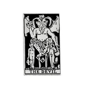 The Devil Tarot Card Enamel Pin (more styles inside) – WeirdGirlsClub