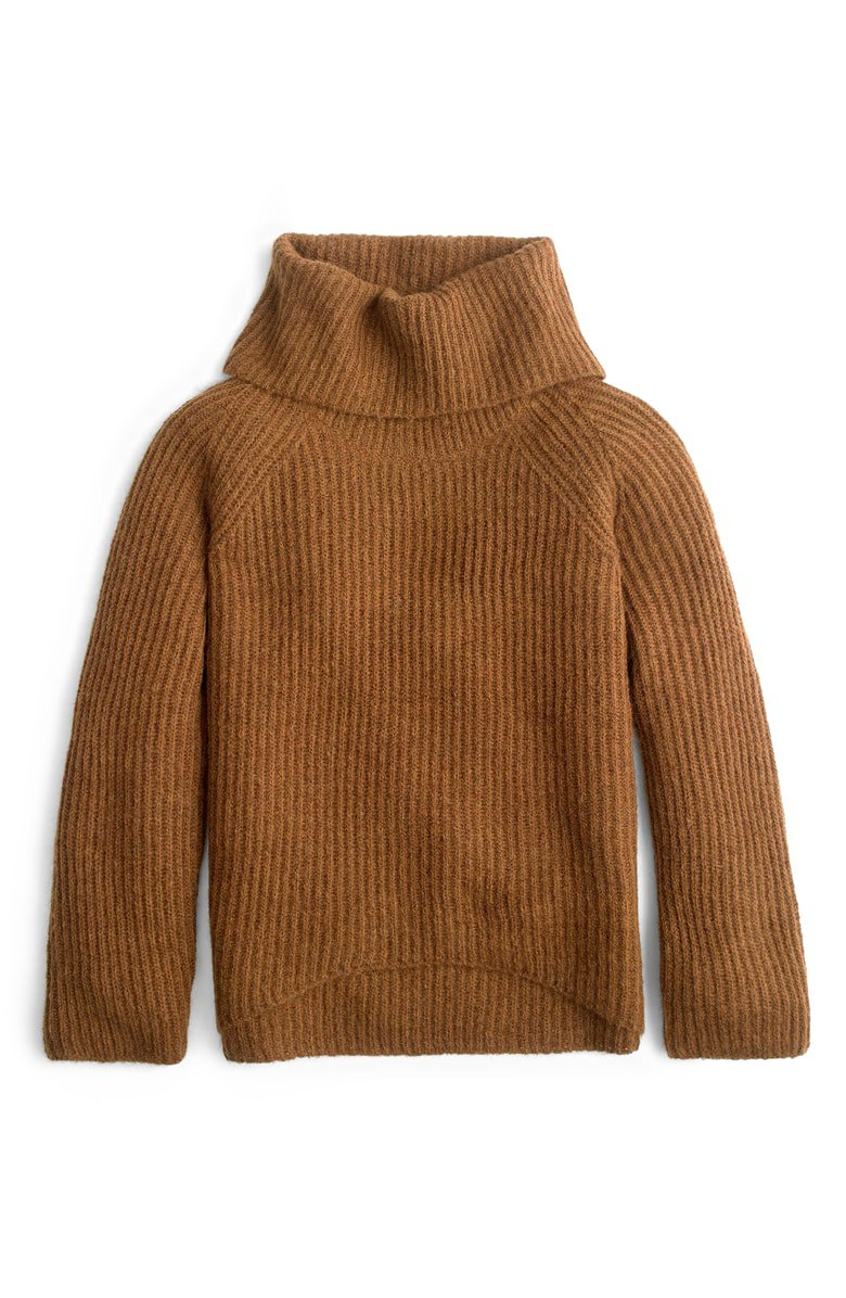 J.Crew Ribbed Turtleneck Sweater | Nordstrom