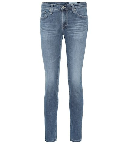 The Prima low-rise skinny jeans