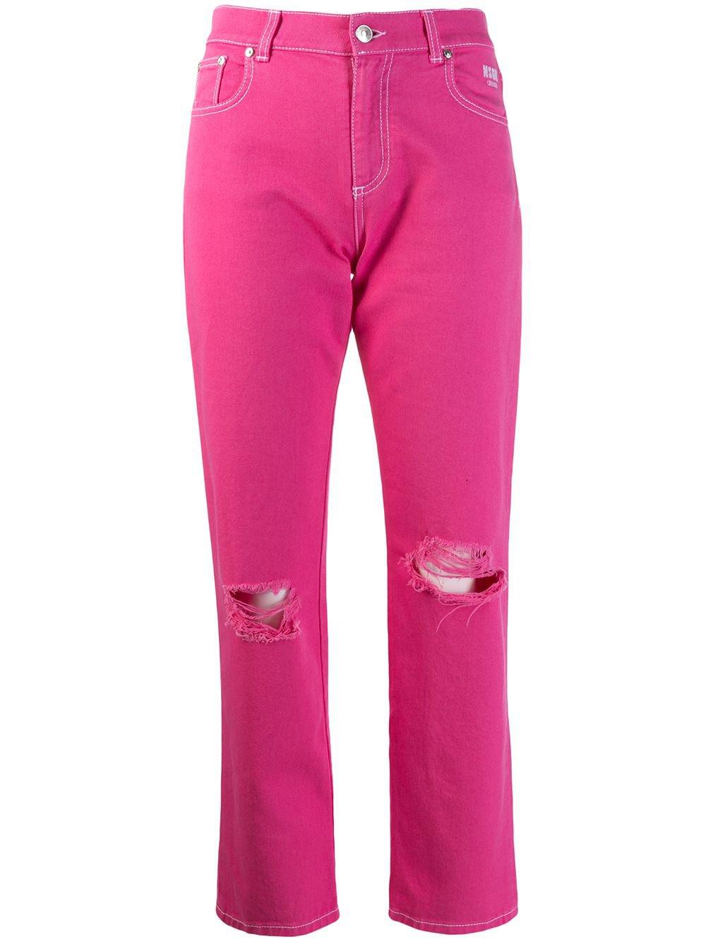 MSGM Slim Fit Jeans - Farfetch
