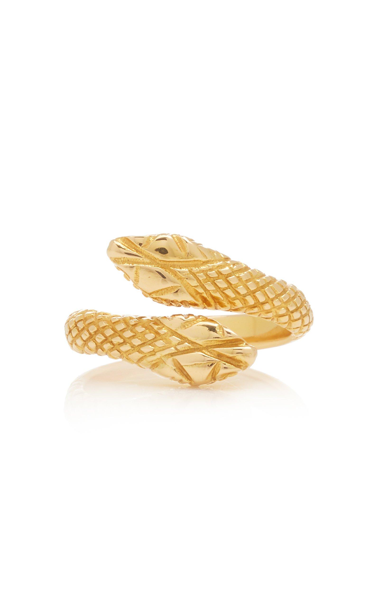 Ilias Lalaounis 18K Gold Duo Snake Ring