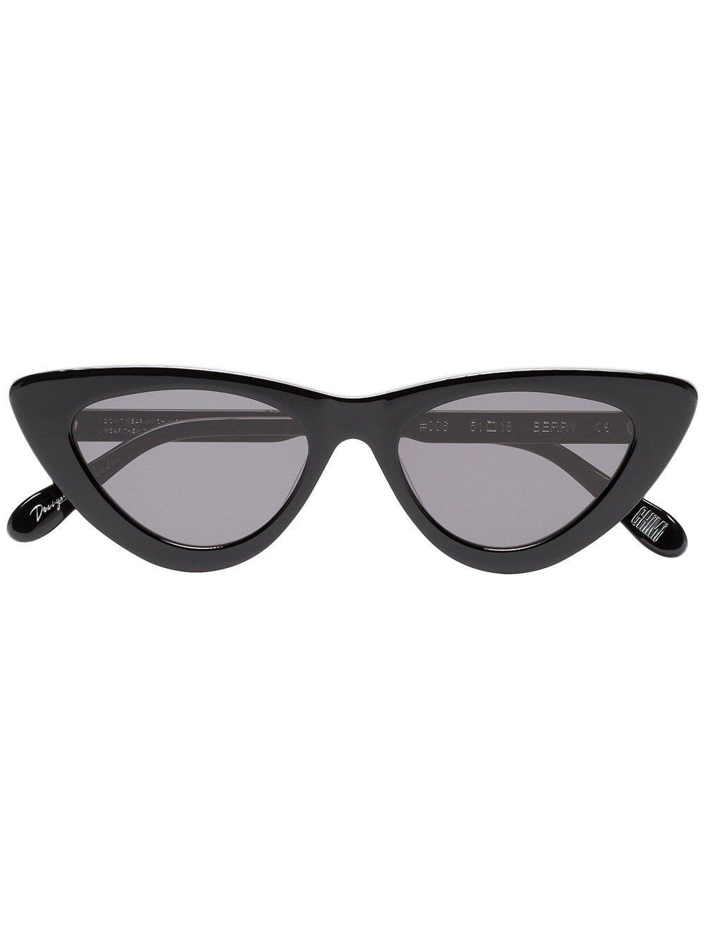 Chimi Black Berry cat-eye sunglasses