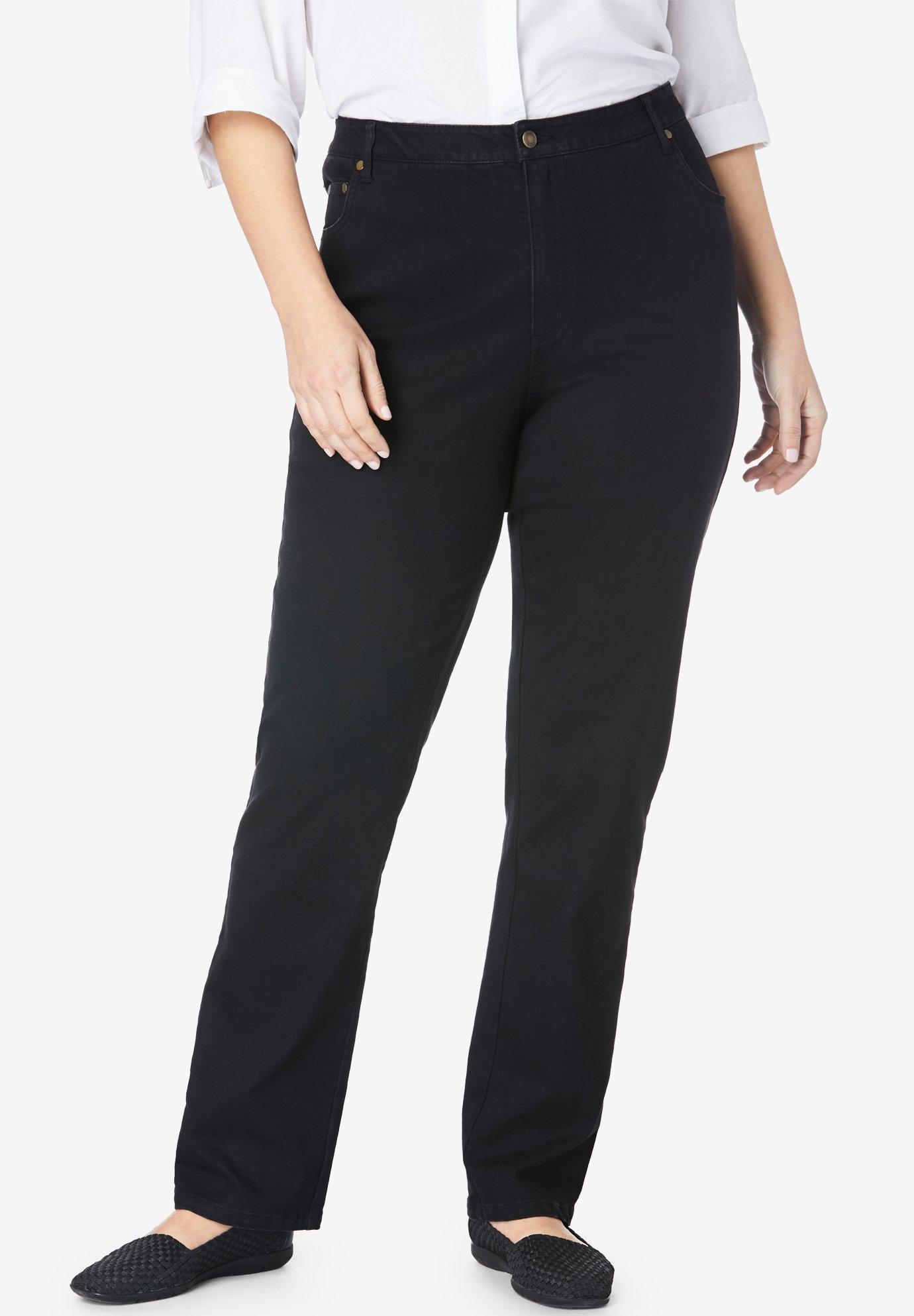 Straight Leg Stretch Jean| Plus Size Tall | Full Beauty