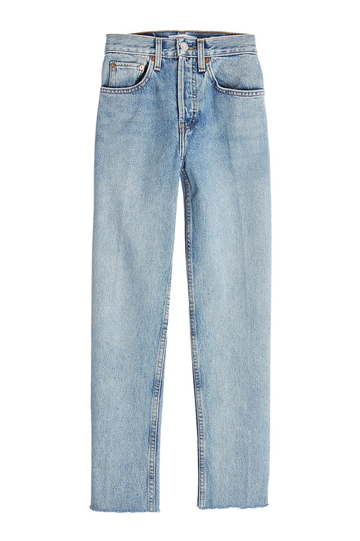Stovepipe 27 High-Waisted Jeans Gr. 30