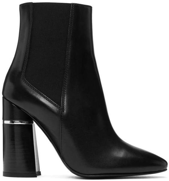 3.1 Phillip Lim Black Drum Chelsea Boots