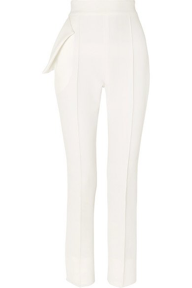 Maticevski | Toreador crepe tapered pants | NET-A-PORTER.COM