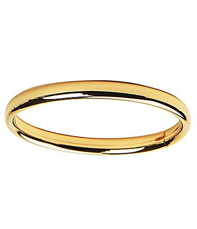 bangle bracelet gold yellow