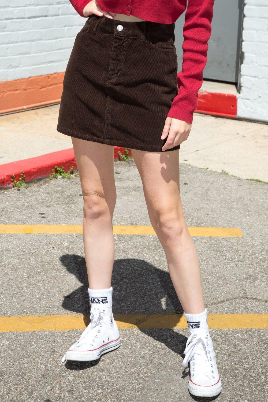 Juliette Corduroy Skirt - Basics
