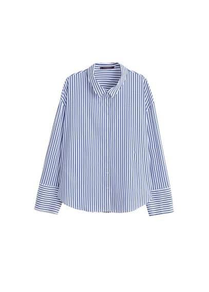 Violeta BY MANGO Cotton Oxford shirt