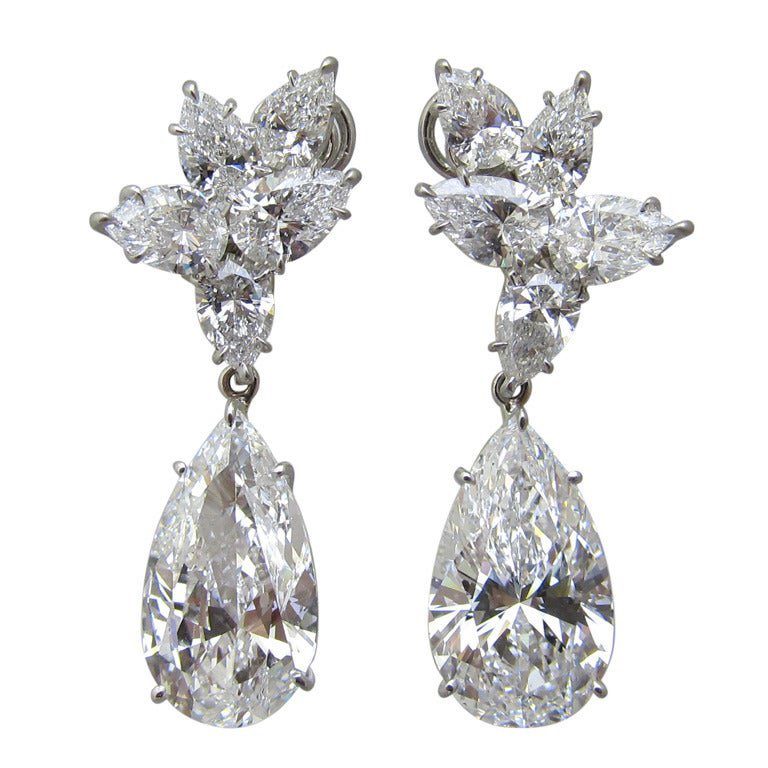 Magnificent Diamond Earrings For Sale at 1stdibs