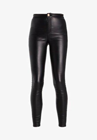 Lost Ink HIGH WAIST - Jeans Skinny Fit - black - Zalando.dk