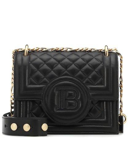 B-Bag 21 quilted leather shoulder bag