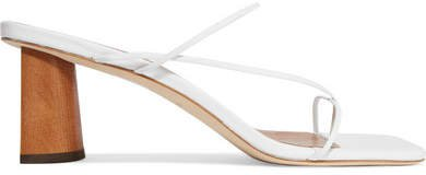 Harley Leather Sandals - White