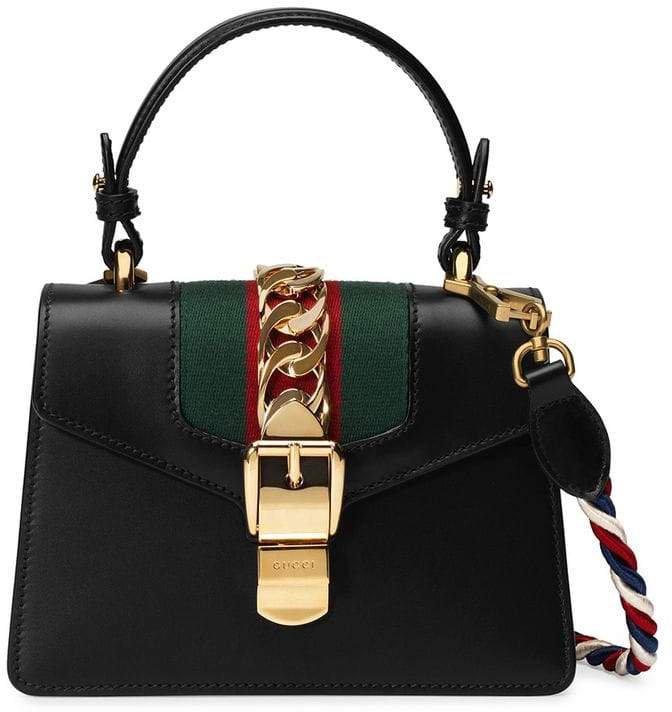 black Sylvie mini bag