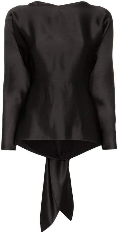 Mia tie-back blouse