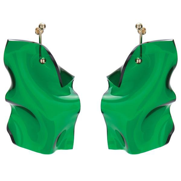 Clarion Earring in Emerald | Lady Grey