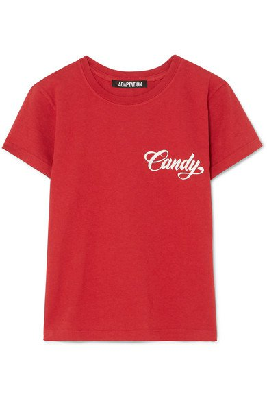 Adaptation | Baby printed cotton-jersey T-shirt | NET-A-PORTER.COM