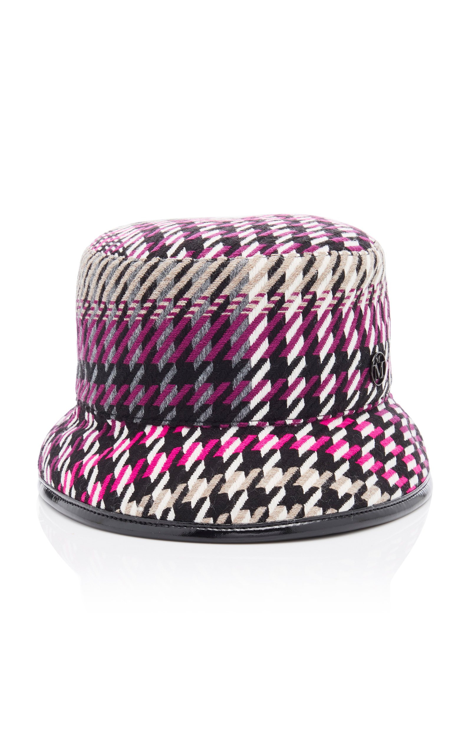Maison Michel Jason Printed Vinyl Bucket Hat Size: L