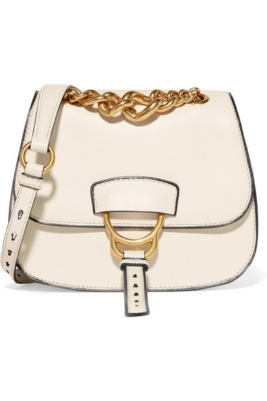 Miu Miu Dahlia leather shoulder bag