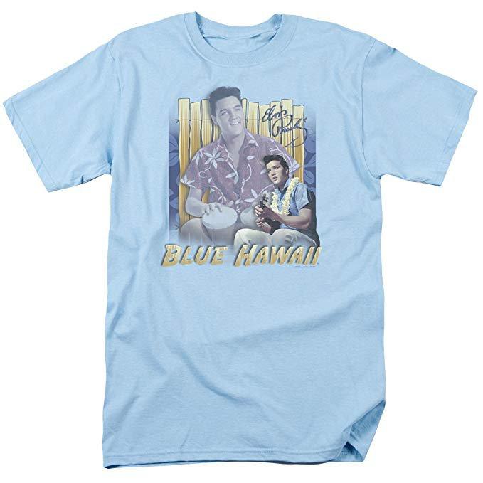 Amazon.com: Elvis Presley - Blue Hawaii - Adult T-Shirt: Clothing