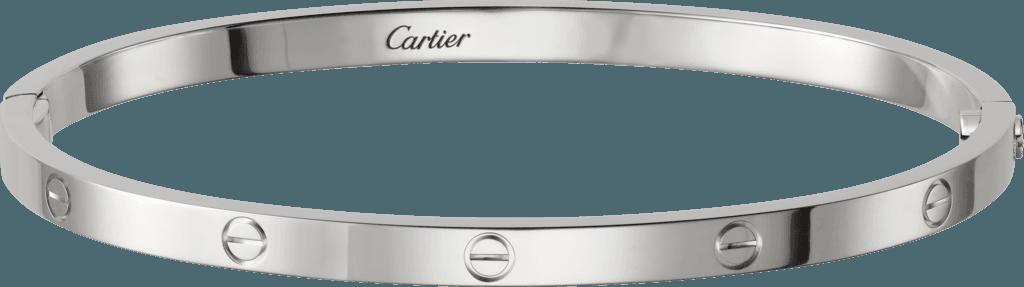 Cartier White gold love bracelet