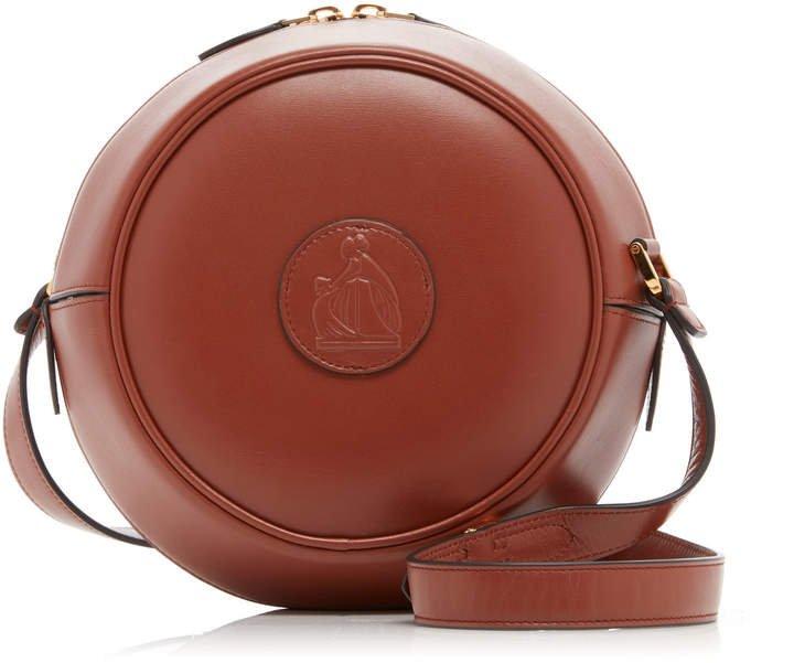 Lanvin Circle Leather Crossbody Bag
