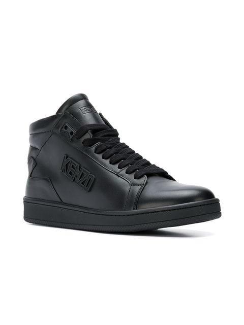 Kenzo hi-top logo sneakers