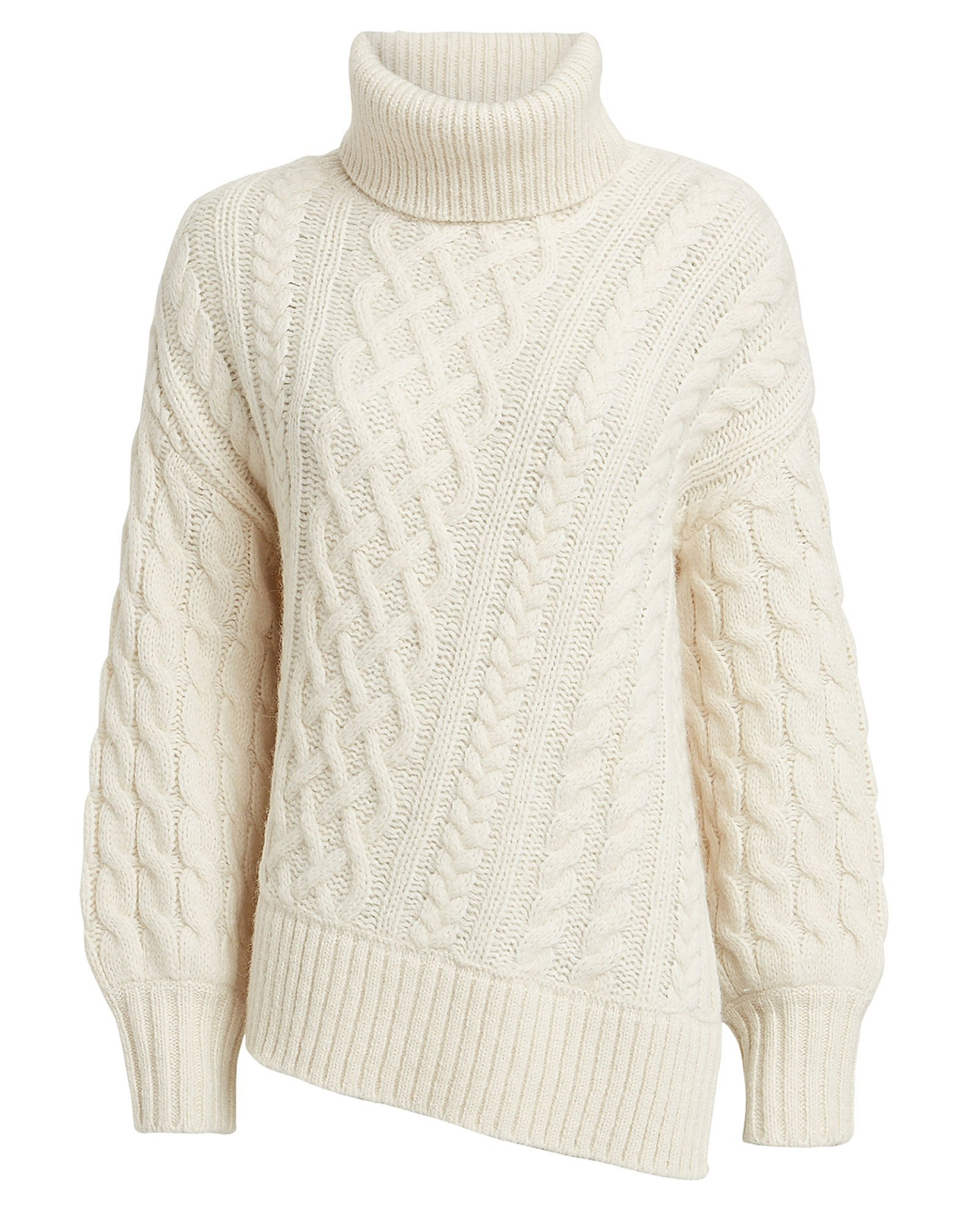 A.L.C. | Nevelson Cable Knit Turtleneck | INTERMIX®