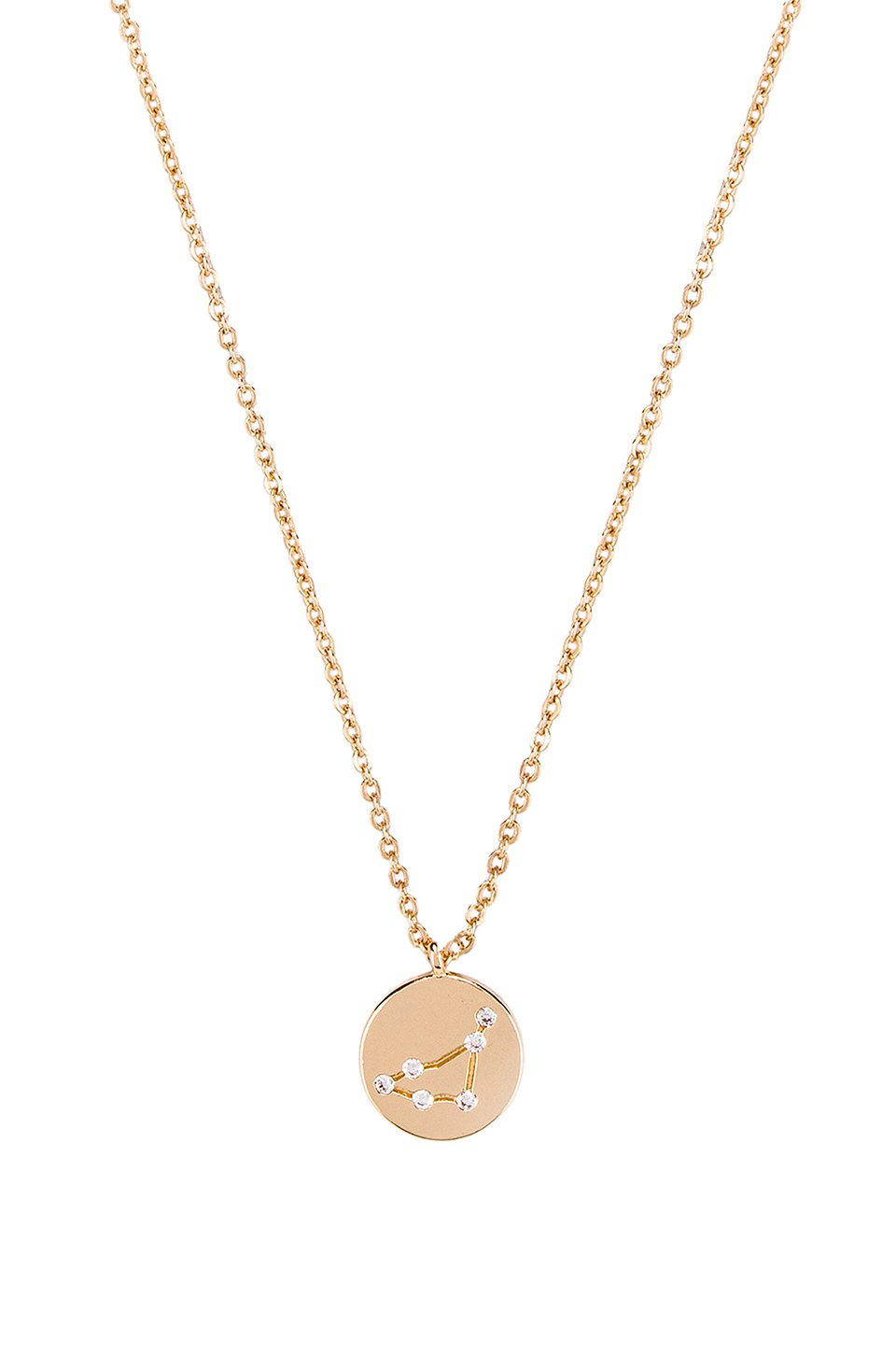 Capricorn Written in the Stars Necklace