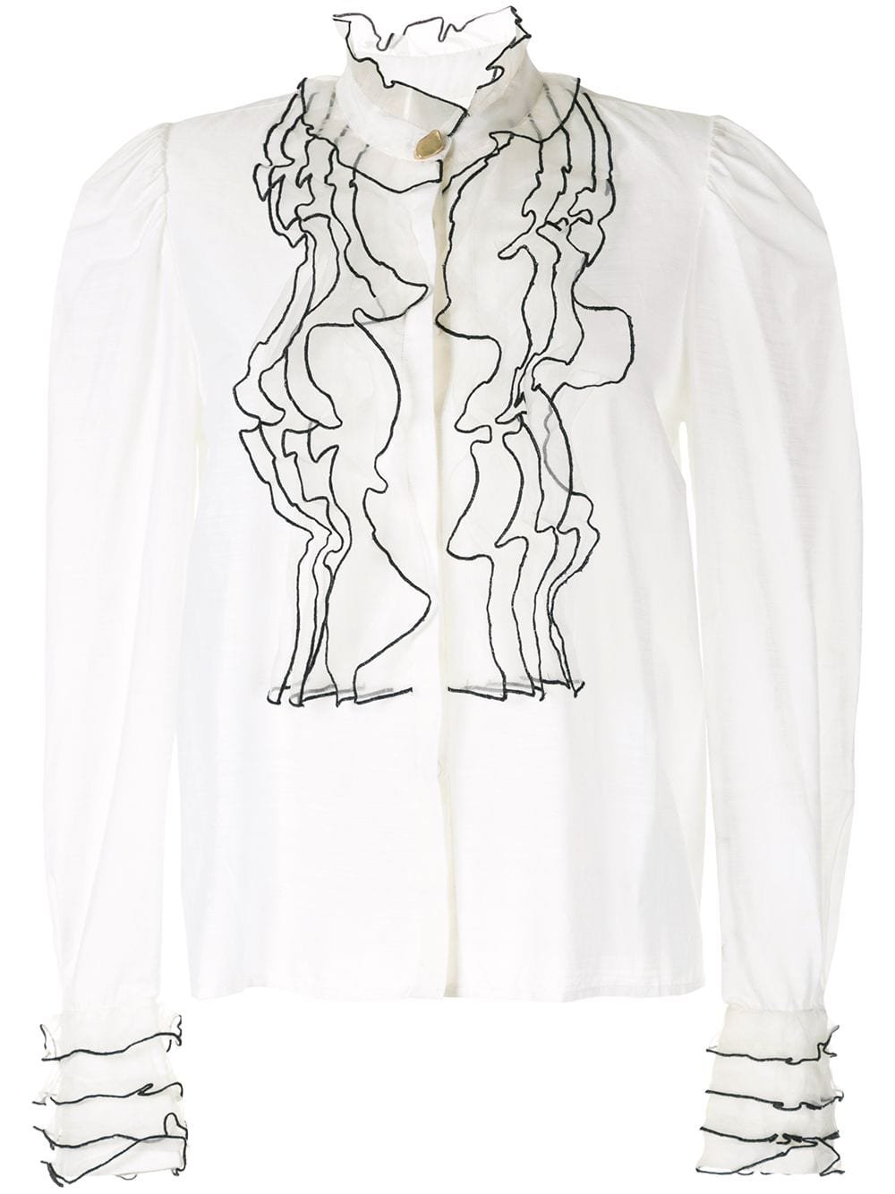 Aje embroidered blouse - farfetch