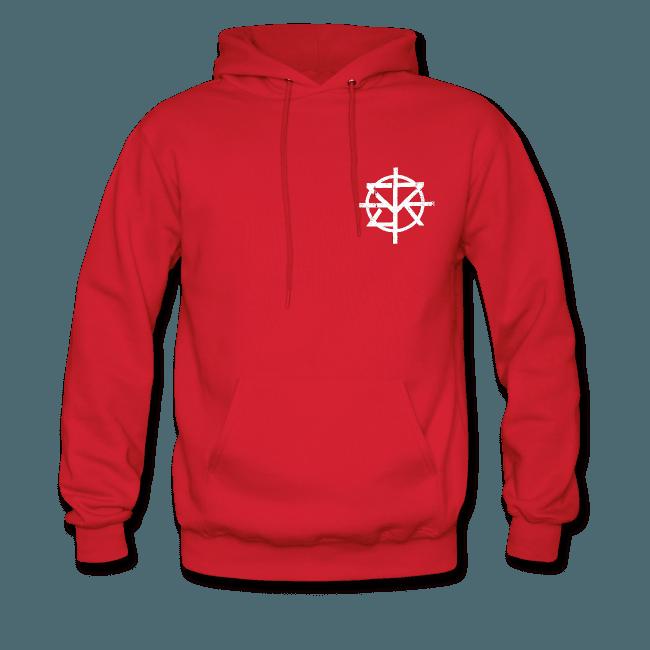 Wrestling Apparel Store | Seth Rollins Burn It Down Red Hoodie - Mens Hoodie