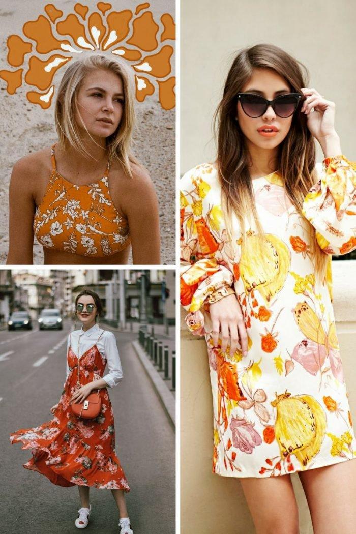Retro Florals Print Trend For Women 2019 - StyleFavourite.com