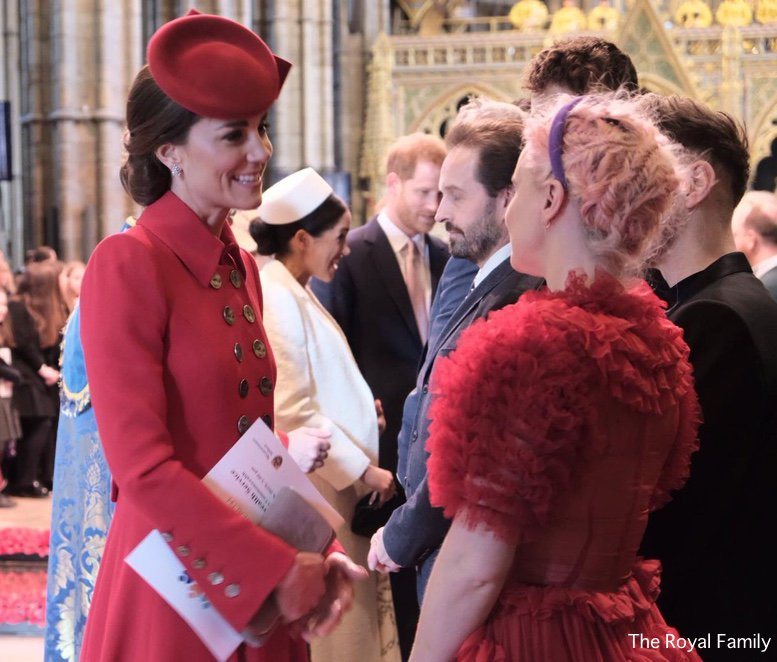 The Duchess Does a Royal Repeat for Commonwealth Service at Westminster Abbey - What Kate Wore