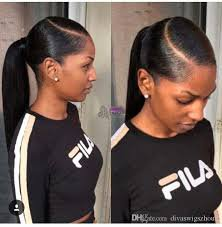 sleek ponytail with weave - Google Search