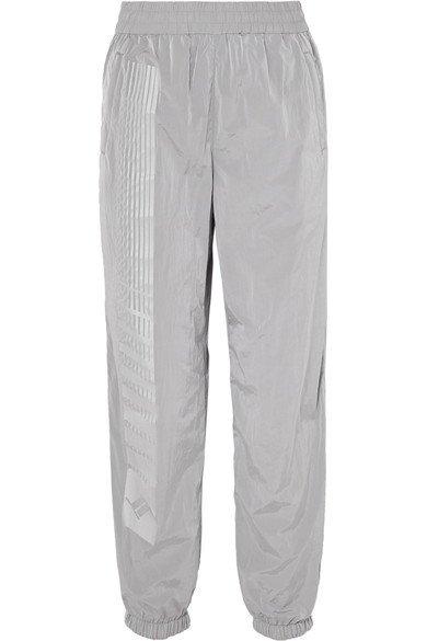 T by Alexander Wang | Striped shell track pants | NET-A-PORTER.COM