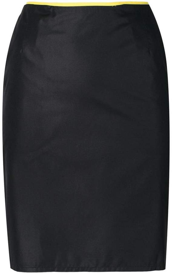 Pre-Owned fitted mini skirt