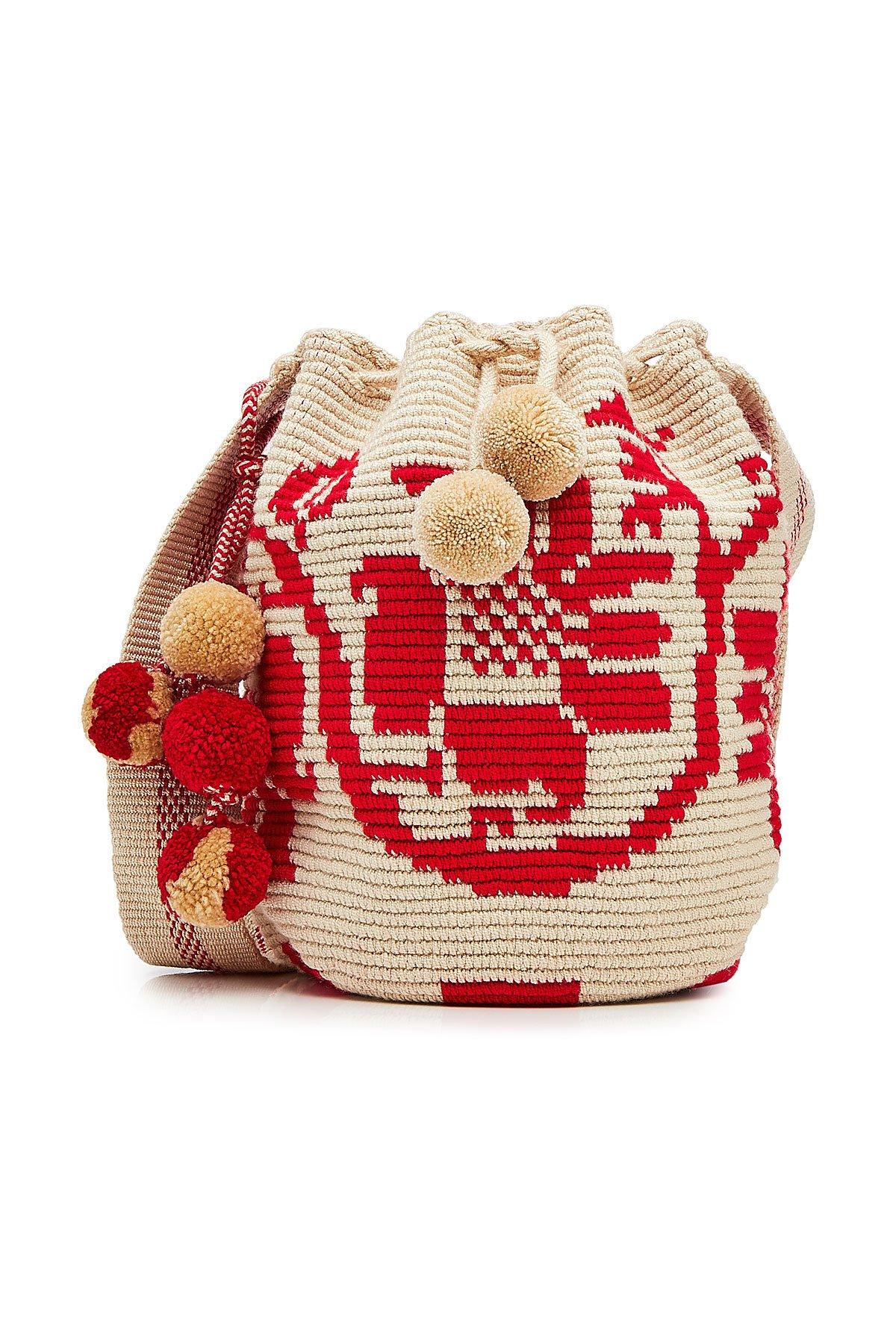 Flower Mochila Bucket Bag Gr. One Size