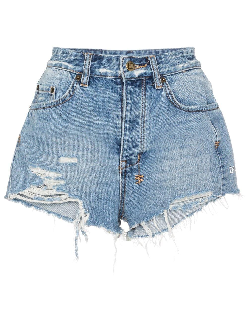 Ksubi Tongue N Cheek Denim Shorts - Farfetch