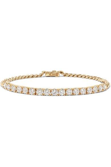 Anita Ko   18-karat gold diamond bracelet   NET-A-PORTER.COM