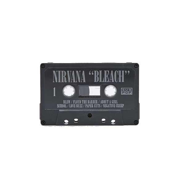 """Nirvana: """"Bleach"""" Cassette Tape"""