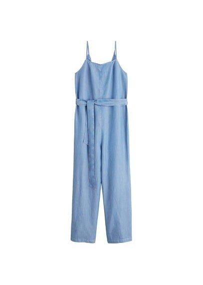 MANGO Denim style jumpsuit