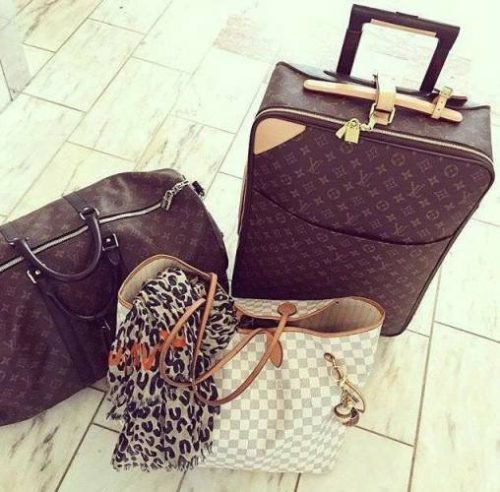 Chic traveling luggage – Just Trendy Girls on We Heart It
