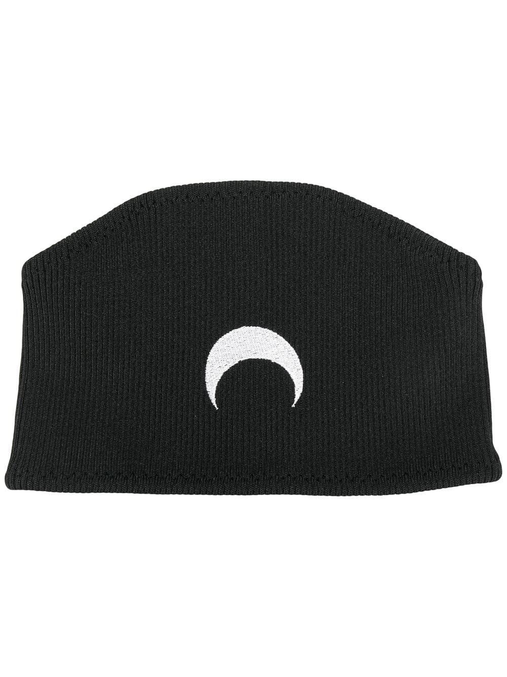 Marine Serre Embroidered Half Moon Headband - Farfetch