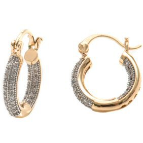 Ear Charms - Sterling Silver Left Only Turquoise Oval Stone Wave Ear Cuff Wrap - Walmart.com