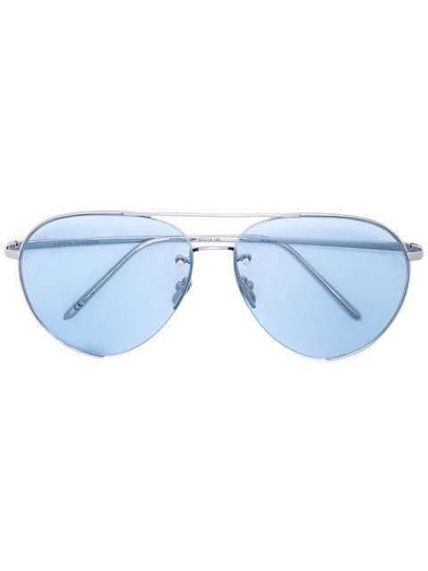 Linda Farrow aviator style sunglasses