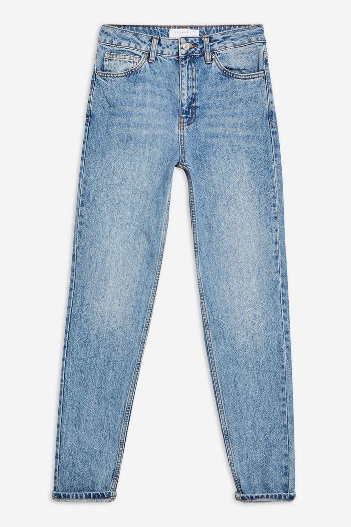 Bleach Mom Jeans   Topshop