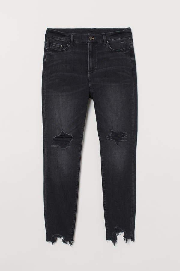 H&M+ Embrace Shape Ankle Jeans - Black