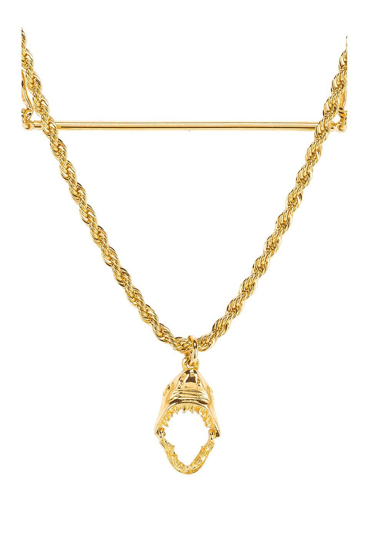 Layered Shark Necklace